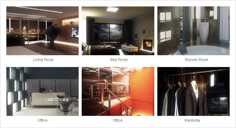 BedRoom, Shower Room, Office, Wardrobe